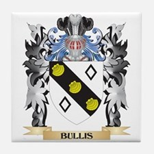 Bullis Coat of Arms - Family Crest Tile Coaster