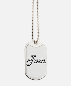 Tom Classic Style Name Dog Tags