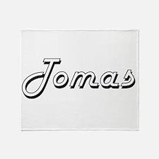 Tomas Classic Style Name Throw Blanket