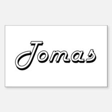 Tomas Classic Style Name Decal