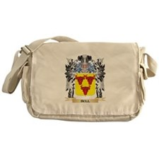 Bull Coat of Arms - Family Crest Messenger Bag