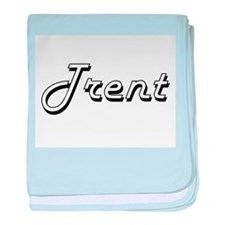 Trent Classic Style Name baby blanket