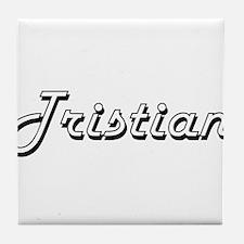 Tristian Classic Style Name Tile Coaster