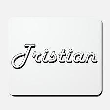 Tristian Classic Style Name Mousepad