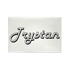 Trystan Classic Style Name Magnets