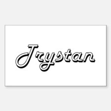Trystan Classic Style Name Decal
