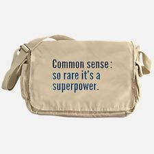 Common Sense Messenger Bag