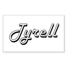 Tyrell Classic Style Name Decal