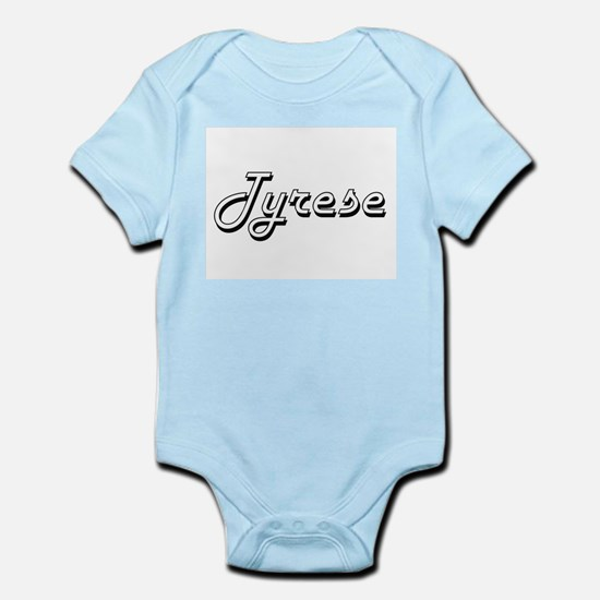 Tyrese Classic Style Name Body Suit
