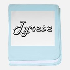 Tyrese Classic Style Name baby blanket
