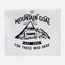 The Mountain Goat Clothing Company. Throw Blanket