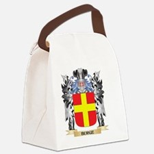 Burge Coat of Arms - Family Crest Canvas Lunch Bag