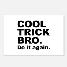 Cool Trick Bro Postcards (Package of 8)