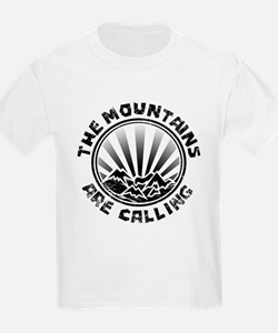 The Mountains are Calling. T-Shirt