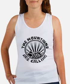 The Mountains are Calling. Tank Top