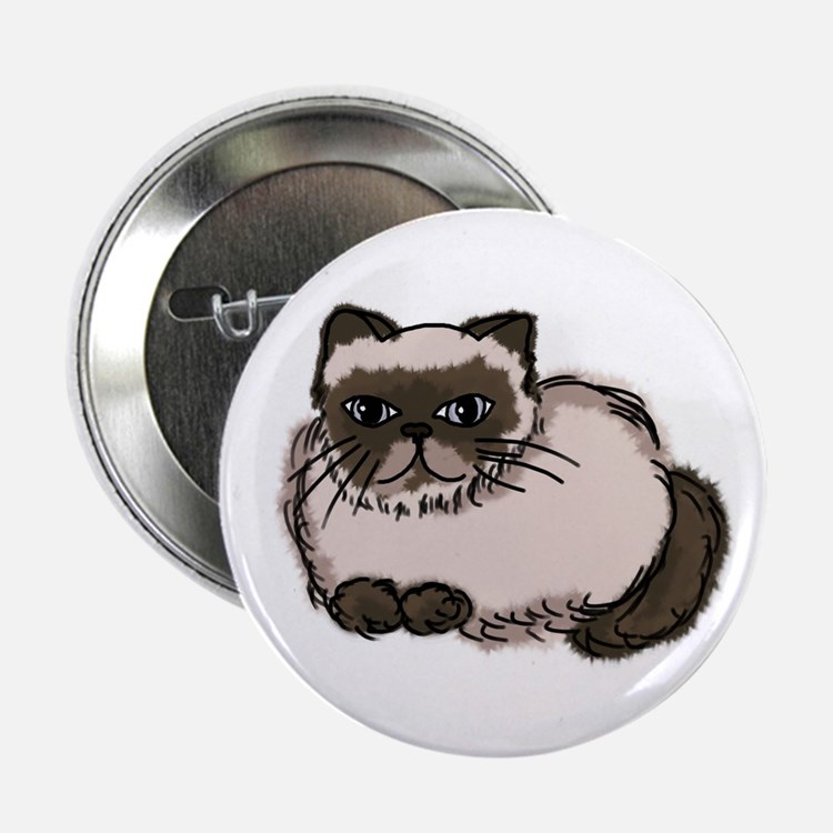 Himalayn Cat Lover Button