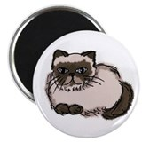 Himalayan cat Magnets