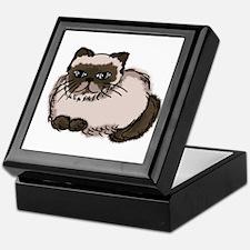 Himalayn Cat Lover Keepsake Box