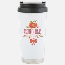 Cute Floral Gifts For A Travel Mug