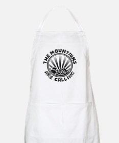 The Mountains are Calling. Apron