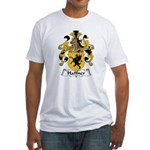 Haffner Family Crest  Fitted T-Shirt