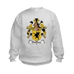 Haffner Family Crest  Kids Sweatshirt