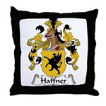Haffner Family Crest  Throw Pillow