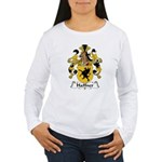 Haffner Family Crest  Women's Long Sleeve T-Shirt
