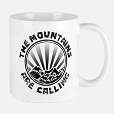 The Mountains are Calling. Mugs