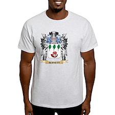 Burnett Coat of Arms - Family Cres T-Shirt