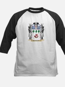 Burnett Coat of Arms - Family Cres Baseball Jersey