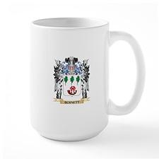 Burnett Coat of Arms - Family Crest Mugs