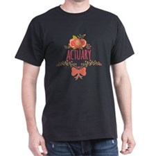 Cute Floral Gifts For Actuarists T-Shirt