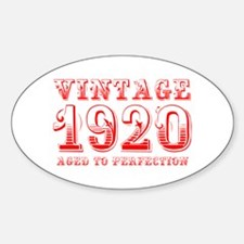 VINTAGE 1920 aged to perfection-red 400 Decal