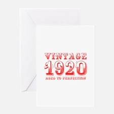VINTAGE 1920 aged to perfection-red 400 Greeting C
