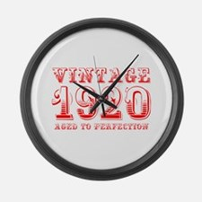 VINTAGE 1920 aged to perfection-red 400 Large Wall