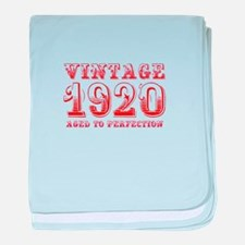 VINTAGE 1920 aged to perfection-red 400 baby blank