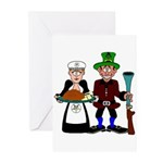 The Mason and the OES Matron Greeting Cards (Pk o