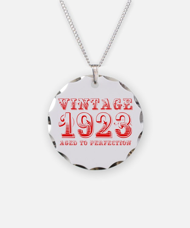 VINTAGE 1923 aged to perfection-red 400 Necklace