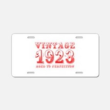 VINTAGE 1923 aged to perfection-red 400 Aluminum L