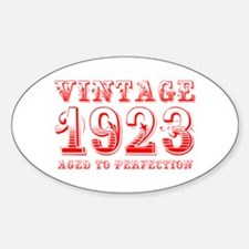 VINTAGE 1923 aged to perfection-red 400 Decal