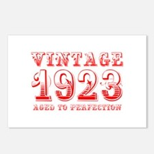 VINTAGE 1923 aged to perfection-red 400 Postcards