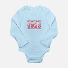 VINTAGE 1923 aged to perfection-red 400 Body Suit