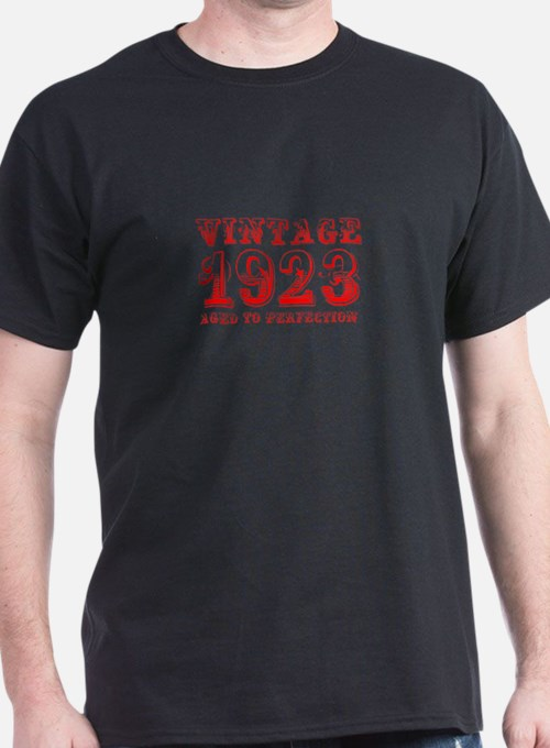 VINTAGE 1923 aged to perfection-red 400 T-Shirt