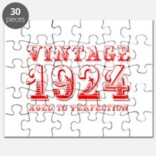 VINTAGE 1924 aged to perfection-red 400 Puzzle