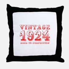 VINTAGE 1924 aged to perfection-red 400 Throw Pill