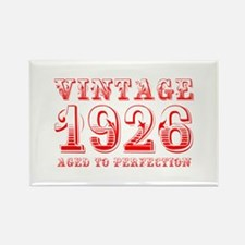 VINTAGE 1926 aged to perfection-red 400 Magnets