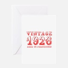 VINTAGE 1926 aged to perfection-red 400 Greeting C