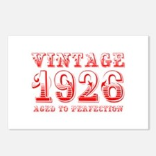 VINTAGE 1926 aged to perfection-red 400 Postcards