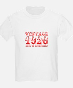VINTAGE 1926 aged to perfection-red 400 T-Shirt